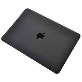 Чехол Folio Shell Frosted Black для MacBook Pro 15.4