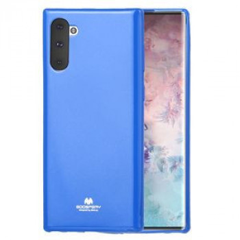 Чехол MERCURY GOOSPERY JELLY на Samsung Galaxy Note 10- синий