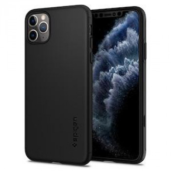 Оригинальный чехол Spigen Thin Fit Classic iPhone 11 Pro Black