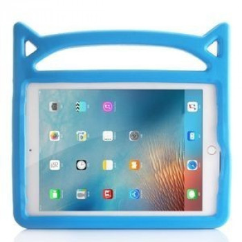 Противоударный чехол Universal Cat Ear Shaped EVA Bumper Protective Case на iPad 9.7 (2018/2017) синий