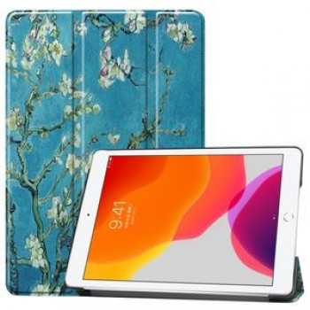 Чехол Custer Three-folding Sleep/Wake-up  Apricot Flower на iPad 8/7 10.2 (2019/2020)