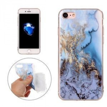 TPU чехол на  iPhone 8 / 7 Blue Marble Pattern
