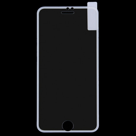 3D защитное стекло на iPhone 7 /8   9H Surface Hardness Explosion-proof Silk-screen Tempered Glass Full Screen Film with Colored Sides(белое)