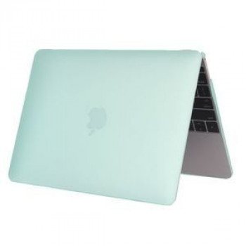 Чехол Colored Translucent Frosted Light Green для Macbook 12