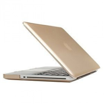 Чехол Frosted Case Gold для Macbook Pro 13.3