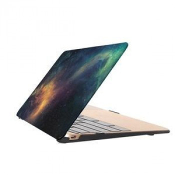 Чехол Starry Sky Water Decals Green для Macbook Retina 12