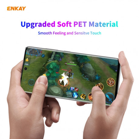 3D Защитная пленка ENKAY Hat-Prince PET Curved Heat Bending HD для Samsung Galaxy Note 20 Ultra - прозрачная