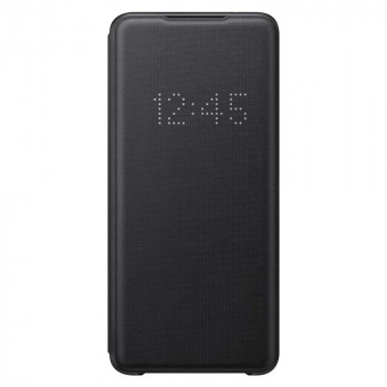 Оригинальный чехол-книжка Samsung LED View Cover для Samsung Galaxy S20 Ultra black (EF-NG988PBEGRU)