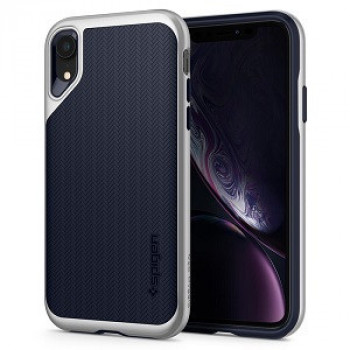 Чехол Spigen Neo Hybrid  на iPhone XR -Satin Silver
