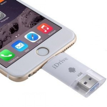 USB флешка iDrive iReader Flash Memory Stick 32GB 8 Pin для iPhone, iPad