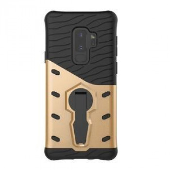 Противоударный Чехол 360 Degree Spin Tough Armor на Samsung Galaxy S9+/G965 (Gold)