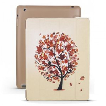 Чехол-книжка Maple Pattern на iPad 4 / 3 / 2