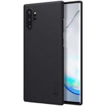 Чехол NILLKIN Frosted Shield Concave-convex на Samsung Note10 Plus - черный