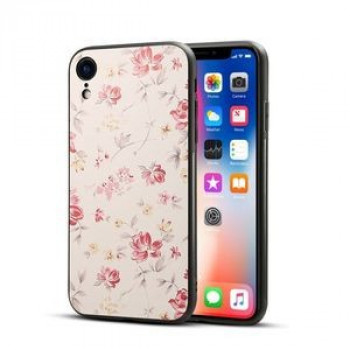 Чехол Begonia Flower Pattern на iPhone XR