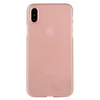 Чехол на iPhone X  PP Protective Back Cover Case терракот