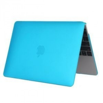 Чехол Colored Translucent Frosted Blue для Macbook 12