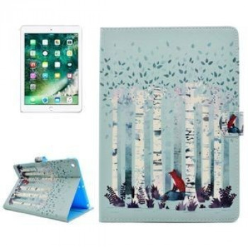 Чехол на iPad 2017/2018 9.7 (A 1822/ A 1823) Forest Fox Pattern