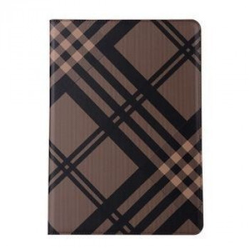 Чехол No. 7 Grid Pattern Luxury Brown для iPad 9.7 2017/2018 (A1822/ A1823)