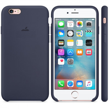 Силиконовый чехол Silicone Case Midnight Blue на iPhone 6 Plus/ 6S Plus