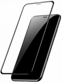 Защитное стекло Baseus 0.2mm 9H Curved Full Screen Tempered Glass Film на iPhone 11 Pro Max/Xs Max черное