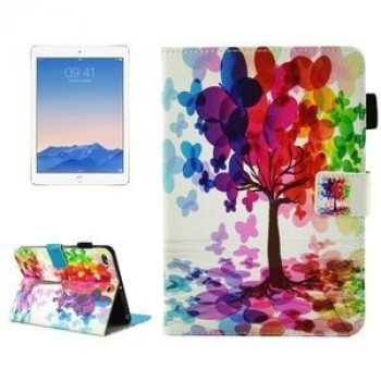 Чехол на iPad 2017/2018 9.7 (A 1822/ A 1823)/ Air 2 / Air Butterfly Tree Pattern  Sleep / Wake-up Function  Pen Slot