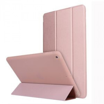 Чехол-книжка HMC Three-folding Holder на iPad 10.2-розовое золото