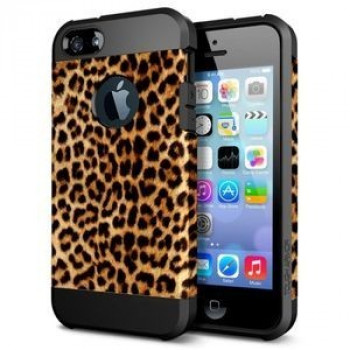 Чехол Colorful Armor Leopard Pattern для iPhone 5/ 5S/SE