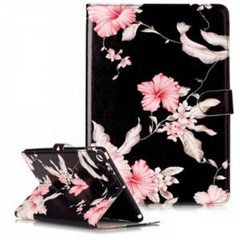 Чехол Colored Painting Wallet Stand на iPad 2017/2018 9.7  - Flowers