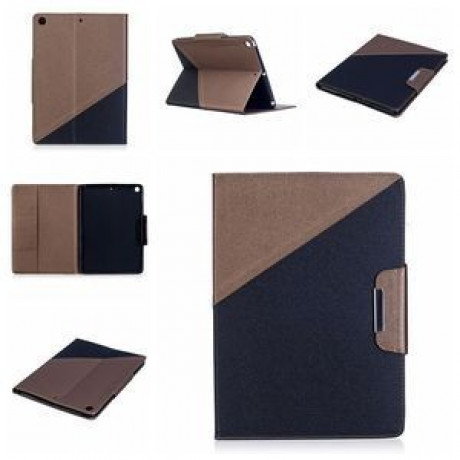 Чехол Double Color Brown  Black для iPad 9.7 2017/2018 (A1822/ A1823)