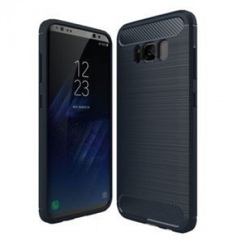Противоударный Чехол Rugged Armor Fiber Dark Blue для Samsung Galaxy S8 / G950