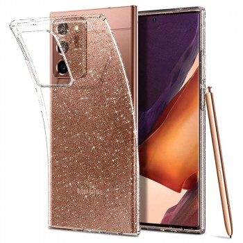 Оригинальный чехол Spigen Liquid Crystal для Samsung Galaxy Note 20 Ultra Glitter Crystal