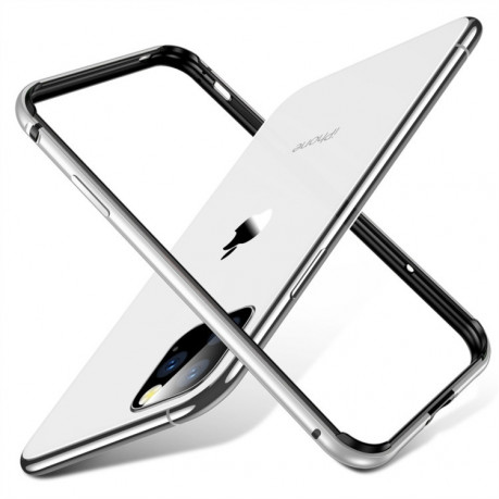 Бампер ESR Edge Guard Aluminum Alloy на iPhone 11 Pro Max- серебристый