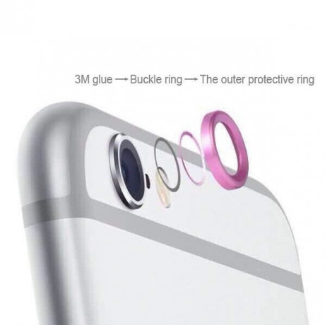 Защита на Камеру Metal Protective Ring Cover для iPhone 6, 6S