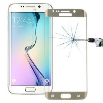 3D стекло на весь экран на Samsung Galaxy S6 Edge+ / G928 0.3mm 9H Surface Hardness(Gold)