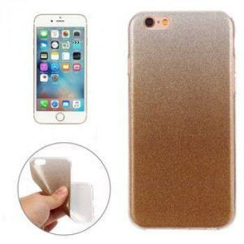 TPU Чехол IMD Color Fades Glitter Powder Gold для iPhone 6/ 6s