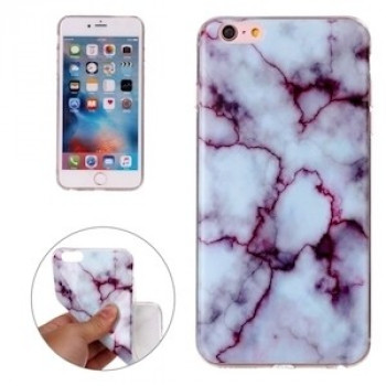 TPU Чехол Marbling Pattern Purple для iPhone 6 Plus, 6s Plus