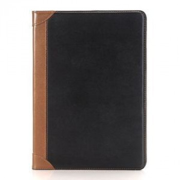 Кожаный Чехол Book Side Card Holder Black для iPad 9.7 2017/2018