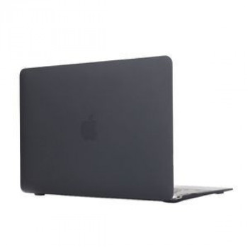 Чехол Colored Translucent Frosted Black для Macbook 12