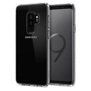 Оригинальный чехол Spigen Ultra Hybrid Galaxy S9+ Plus Crystal Clear