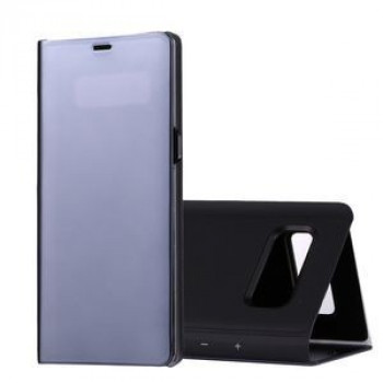 Чехол- книжка Clear View на Samsung Galaxy Note 8 Electroplating Mirror (Black)