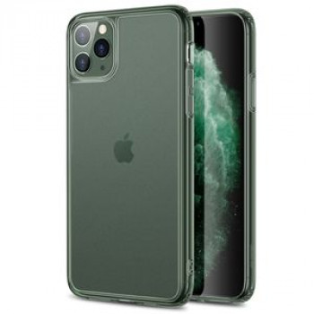 Стеклянный чехол  ESR Ice Shield Serie на iPhone 11 Pro-Dark Green