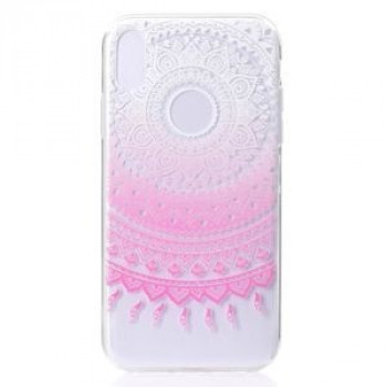 Чехол Pink Flower Pattern Colorful Painted  на iPhone XS Max