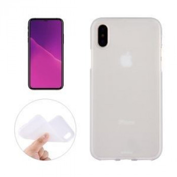 Чехол на iPhone X Solid Color Frosted прозрачный