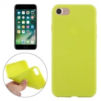 TPU Чехол Solid Color Smooth Surface Neon Green iPhone 7/8