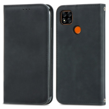 Чехол-книжка Retro-skin Business Magnetic на Xiaomi Redmi 9A - черный