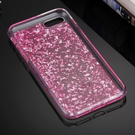 TPU Чехол Scattered Platinum Pattern Magenta для iPhone 7/8
