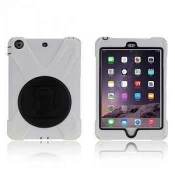 Противоударный чехол 3 в 1 Shock-proof Detachable Stand на iPad Mini 3 Mini 2 iPad Mini  White
