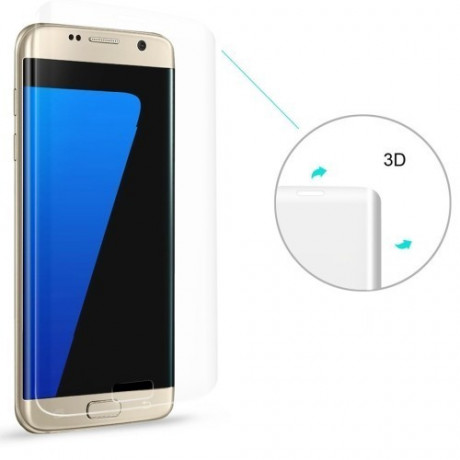 Защитное 3D Стекло на весь экран ENKAY 0.26mm 9H 3D Curved для Samsung Galaxy S7 Edge / G935