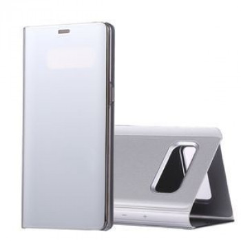 Чехол- книжка Samsung Clear View Standing Cover OEM на Samsung Galaxy Note 8 Electroplating Mirror (Silver)