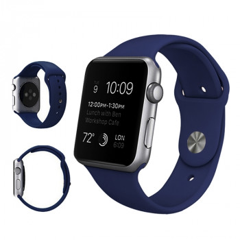 Ремешок Sport Band Dark Blue для Apple Watch 42/44mm